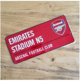 Arsenal Color Street Sign