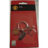3 Pieces KeyRing Manchester United