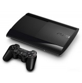PS3 Console Super Slim 500GB - Black
